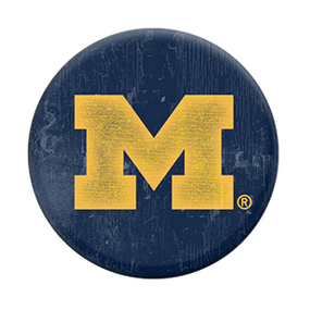 university of michigan heritage  popsocket