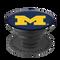 university of michigan logo popsocket, side view