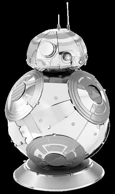 BB-8 star wars metal model kit