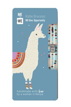 opportunity rafiki bracelet - llama