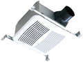 Airzone - Premium Quite Fan with Humidity Sensor 90-CFM - SE90H