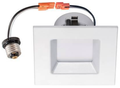 "Prolite - 4"" Square Trim LED Down Light Dimmable 10W 27K"