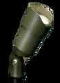 FX LUMINAIRE  -  SI-20-BZ - SI Up Light, 20 Watt Halogen, Standard Shroud, Bronze Metallic
