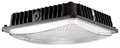 Prolite - Slim Canopy Design 65-Watt 6600-Lumens 5000K Dark-Bronze 0-10V Dimmable • General purpose • Security • Parking garage