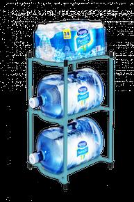 Caribbean Turquoise Modular Bottle Rack
