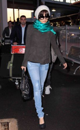 Jet by John Eshaya Patchwork Jeans as seen on Nicole Richie