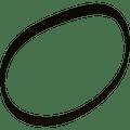 Replacement Belt for Bissell BGU1451T Vacuum