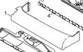 Shock Absorber, 15 inch for CV38 Vacuum