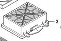 HEPA Filter Cartridge for CV30 & CV38 Vacuum
