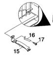Bracket Filter (Filter Holder) for CV30 & CV38 Vacuum