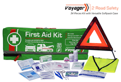 Voyager 2 Road Safety - 34 Piece Kit - Versatile Softpack