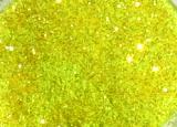 UV Electric Yellow Glitter
