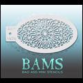BAM Mandala Stencil