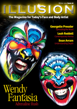 This issue is packed with ideas to inspire, whether your art is purely for the joy of it – or your livelihood.   Wendy Fantasy brings a riot of colour to the cover and shares with Illusion her adrenaline rush for competitions.   This issue is packed with 15 step-by-steps designs from some of the biggest names in the industry, including Amy Grigg, Jenny Saunders, Ezia Leach and a beautiful abstract horse design from Mary Fairgrieve.