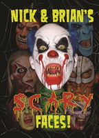 Fourth in the series of books, Nick and Brian Wolfe have painted their trademark scary faces. 16 design including witches, clowns, werewolf, zombies and monsters and more.