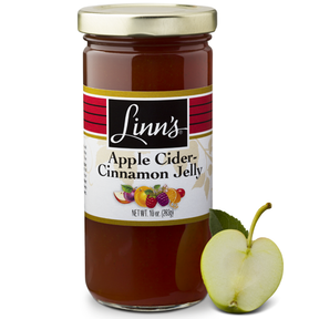 Linn's Apple Cider-Cinnamon Jelly