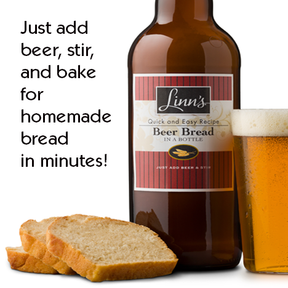Linn's Beer Bread Mix in a Bottle