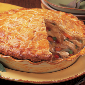 Linn's Family-Size Chicken Pot Pie