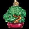 Bonsai Tree Glass Ornament
