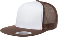 6006W Classic Snapback Trucker With White Front