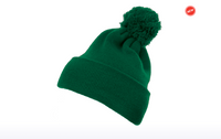 1501P Yupoong Cuffed Knit Beanie with Pom Pom