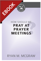 How Should We Pray at Prayer Meetings? - Cultivating Biblical Godliness Series -EBOOK (McGraw)