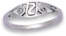 Silver Ladies Rings 1179