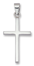 Silver Cross Pendant 8156