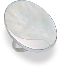 Silver Mother of Pearl Rings 2161MOP