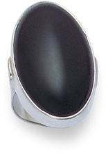 Silver Onyx Rings 2194ON