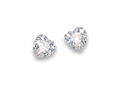 Silver Cubic Zirconia Stud Earrings 5766CZ