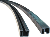 7.3m width 1in Resin Rail L=1430mm