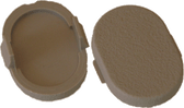 Resin Seat Cover Cap Beige 2402