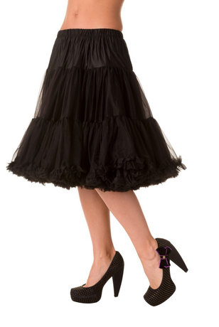BANNED - Starlite Petticoat in Black