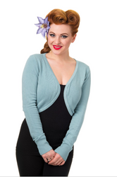 Trash Monkey ** BANNED - Flickers Bolero in Pastel Blue