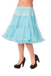 Trash Monkey ** BANNED - Starlite Petticoat in Baby Blue