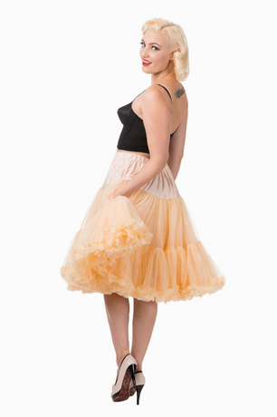 Trash Monkey ** BANNED - Starlite Petticoat in Champagne