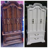 Oak armoire by stanley