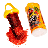 Lucas Muecas a delicious hard candy lollipop with the amazing combination of tamarind flavor and hot chili powder!