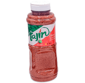 """Tajin is a delicious mix of the highest quality Mexican chilies mix with lime and salt. Tajin has the perfect balance of spice and flavor and it makes it a delicious but spicy fruit seasoning"""" powder."""
