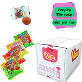 Pica Goma by Vero comes with these different flavors that you can choose from such as Strawberry, Tamarind, Watermelon and Mango. The chewy gum is covered with a delicious chili on top and has the flavored gummy on the inside.