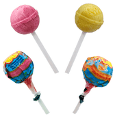 Chupa Chups is a delicious hard candy lollipop with a light yogurt flavor of different fruits essence. The lollipops have a soft and sweet taste of yogurt, sugar and mango or strawberry flavor.