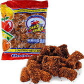 Chaca Chaca Chacatrozo is a classic Mexican Candy and one of the most popular candies. It´s a blend of fruits with chili and has the perfect combination of sweet and spicy.