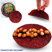 El Leoncito Tortilla is a delicious tortilla made of a paste from dried fruits. This is a fresh fruit candy use as a snack, you can eat with peanuts, fruits, chamoy sauce or other snacks.