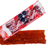 Chaca Chaca is a tasty bar made of tamarind pulp with a rich spicy touch. This candy has a sweet, sour and spicy flavor that melts in your mouth!