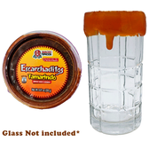 Escarchaditos is a delicious caramel that is perfect to put in fruits, vegetables, drinks or snacks. This candy has a really sweet tamarind flavor combine with a touch of spicy and a soft and gooey texture.