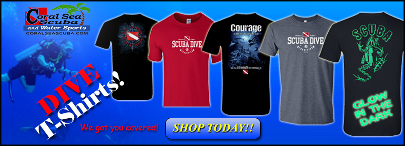 Coral Sea Scuba T-Shirts