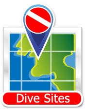 Dive Sites Icon - button for dive locations