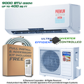 The latest evolution in comfort and savings is finally here: the Ramsond GWi Series of Inverter Ductless Mini Split Air Conditioners are the best solution for your climate control needs. Ductless mini split ACs can be installed in virtually any location, and with Ramsond's BRAND NEW state-of-the-art inverter-controlled power systems the Ramsond GWi Series provides extremely high efficiency (SEER 16.0 and above) cooling and dehumidification wherever you need it. Each system also has a powerful and flexible HEAT PUMP functionality built in, providing reliable supplemental heating in the colder months to keep you comfortable all year round.  Ramsond Ductless Mini Split Air Conditioning Systems are one of the most powerful & flexible ways to efficiently cool a room. Each system has two parts: an indoor unit & an outdoor unit. The indoor unit is mounted using a bracket - like a picture frame - on an exterior facing wall, then connected to the outdoor unit using a small hole drilled through the wall. Electricity for the entire air conditioner is supplied by connecting the Outdoor unit to a 15 Amp Breaker for the lower BTU systems, 20 Amp Breaker for the higher output (not supplied) then relaying power to the Indoor unit. This means you only need one power source for both components, along with one of the fastest setup-to-use installations for any type of AC available anywhere.