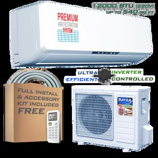 Ramsond R37GWi 12000 BTU Inverter Ductless Mini Split AC + Heat Pump